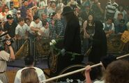 The Undertaker entrance in WrestleMania 9