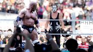 Triple facing Sting Wrestlemania 32