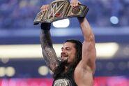 Roman as two-times WWE Champion