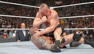 Brock-Lesnar beating the hell out of Orton