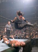 Undertaker against Randy Orton WrestleMania 21