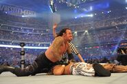 Undertaker Wrestlemania-25