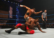 Cody Rhodes taking on Ezekiel Jackson