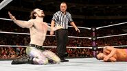 Aiden defeated Dillinger