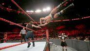 Dean thrown Cesaro out