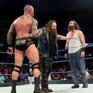 Bray-wyatt and randy Orton