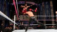Seth Rollins powerbomb on Kofi