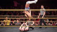 Ibushi flip on Wolfe