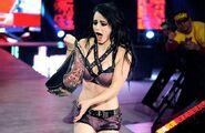 Paige as the youngest Divas Championship