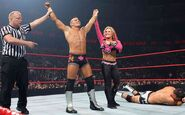Natalya with Tyson-Kidd