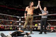 Baron defeated Dolph Ziggler