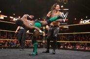 Swann kicking Baron Corbin