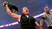 Ambrose winning the United States Champion