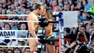 Bryan kissed AJ-Lee