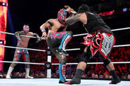 Kalisto and Sin Cara-The Usos