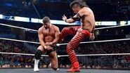 Nakamura kicked Bobby-Roode