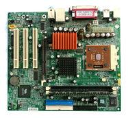 MicroATX Motherboard with AMD Athlon Processor 2 Digon3
