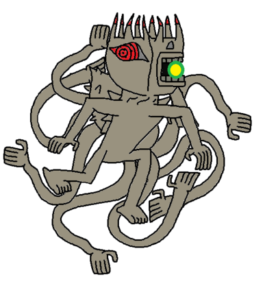 Juubi's Mega Lazer