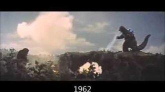 Godzilla roars 1954-2014