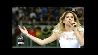 Violetta Martina Stoessel Imagine - Partita per la Pace - Roma