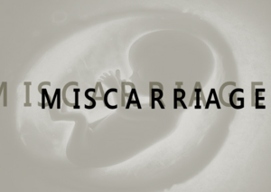 MISCARRIAGE title card (promo)