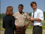 Andy Taylor Talks with Mulder and Scully