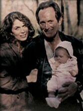 Frank Black, Catherine Black and young Jordan Black