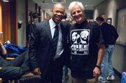 Chris Carter with Xzibit