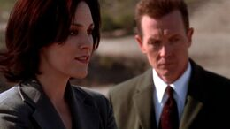 John Doggett introducing Monica Reyes