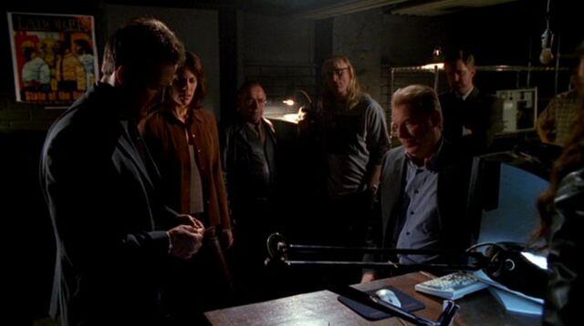 File:The Lone Gunmen with John Doggett, Monica Reyes and Morris Fletcher.jpg