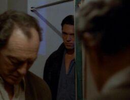 Alex Krycek watches William Mulder