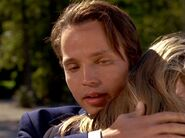 James Dickerson embraces Tina