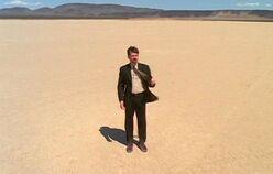Byers in dreamt desert