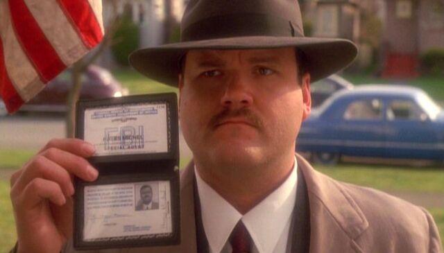 File:Hayes Michel with FBI badge.jpg