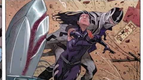Uncanny Avengers 8 Issue Flashback Death of Archangel - Marvel AR