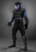 X-Men Days of Future Past 003 Beast newface