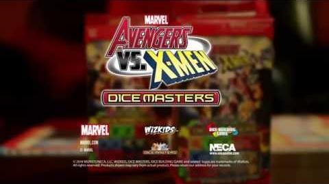 Marvel Dice Masters Avengers vs. X-Men Trailer