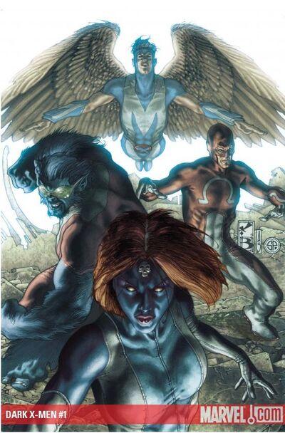 Dark X men Vol 1