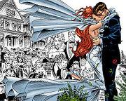 Scott Summers & Jean Grey (Earth-616) 001 Wedding