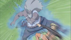 Narutos-rasengan-pushes-raikage-hand-into-weak-spot