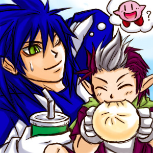 File:Sonic and Chip A glutton by maruringo.jpg
