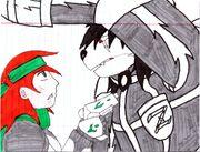 Zack, promising Maya that he'll take care of Gabriel