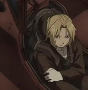 Edward as a pilot
