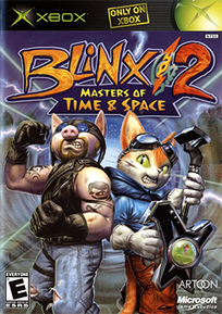 Blinx 2 - Masters of Time and Space Coverart