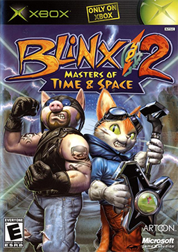 File:Blinx 2 - Masters of Time and Space Coverart.png
