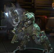 XCOM EW MEC Minigun&KSM2