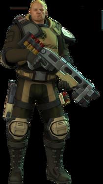 XCOM-EU Soldiers Class - Assault
