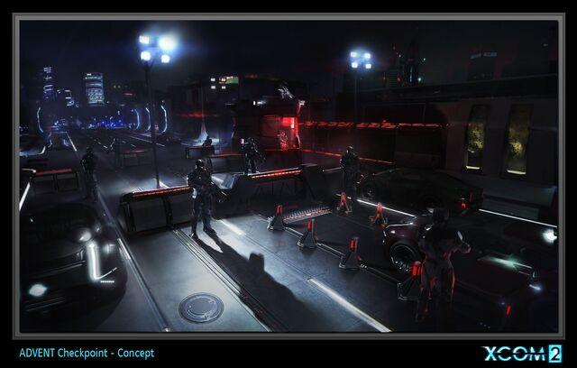 File:XCOM2 ConceptArt ADVENTCheckPoint.jpg