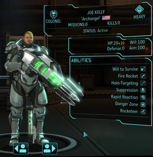XCOM(EU) Hero JoeKelly