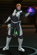 XCOM-EU female Psi-Soldier with Psi-Armor